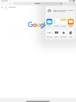 Apple ipad-pro-12-9-inch-2018-model-a1895 - Internet - Hoe te internetten - Stap 17