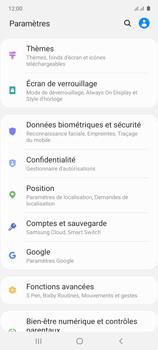 Samsung Galaxy Note 10 Lite - Sécuriser votre mobile - Activer le code de verrouillage - Étape 4