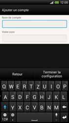 HTC One X Plus - E-mail - Configuration manuelle - Étape 15