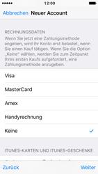 Apple iPhone SE - iOS 10 - Apps - Konto anlegen und einrichten - Schritt 18