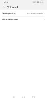 Huawei Y5 (2019) - Voicemail - handmatig instellen - Stap 8