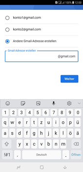 Samsung Galaxy J4+ - Apps - Konto anlegen und einrichten - Schritt 13