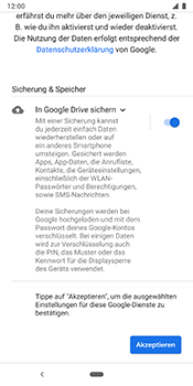Google Pixel 3 - E-Mail - Konto einrichten (gmail) - Schritt 11