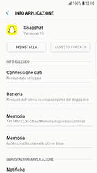 Samsung Galaxy S6 Edge - Android Nougat - Applicazioni - Come disinstallare un