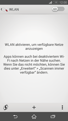 Sony Xperia Z3 - WLAN - Manuelle Konfiguration - 1 / 1