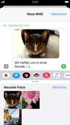 Apple iPhone 8 - iOS 13 - MMS - Erstellen und senden - Schritt 17