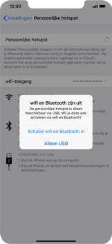 Apple iPhone XR - Internet - mijn data verbinding delen - Stap 7