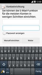 Huawei Ascend Y530 - E-Mail - Konto einrichten - Schritt 6