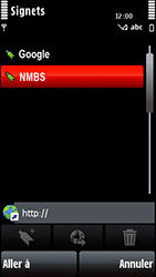 Nokia 5800 Xpress Music - Internet - navigation sur Internet - Étape 11