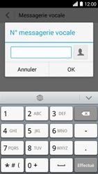 Huawei Ascend Y530 - Messagerie vocale - configuration manuelle - Étape 8