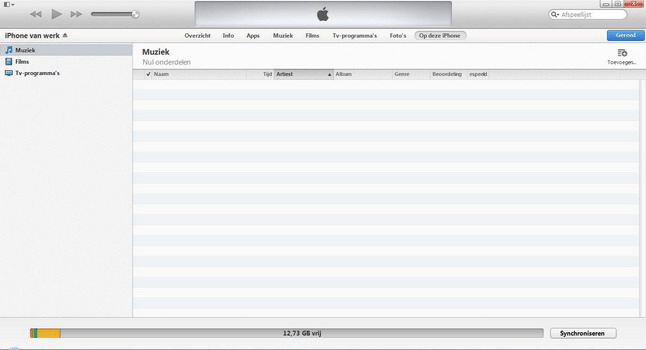Apple iPhone 4 met iOS 7 - Software - PC-software installeren - Stap 17