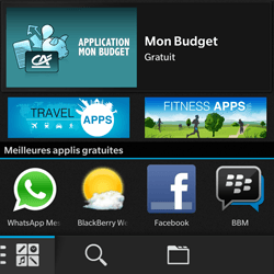 BlackBerry Q10 - Applications - Télécharger une application - Étape 10