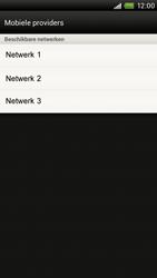 HTC S720e One X - netwerk en bereik - gebruik in binnen- en buitenland - stap 8