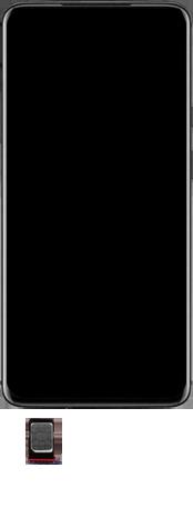 OnePlus 7T Pro - Premiers pas - Insérer la carte SIM - Étape 4