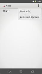 Sony Xperia Z1 - MMS - Manuelle Konfiguration - Schritt 8