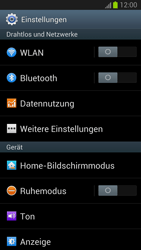 Samsung Galaxy S III - OS 4-1 JB - MMS - Manuelle Konfiguration - 1 / 1