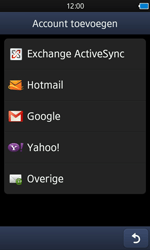 Samsung S8600 Wave 3 - E-mail - e-mail instellen: POP3 - Stap 5