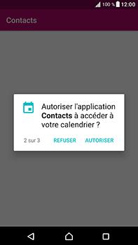 Sony Xperia XA1 Ultra - Contact, Appels, SMS/MMS - Ajouter un contact - Étape 10