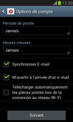 Samsung Galaxy S III Mini - E-mail - 032c. Email wizard - Outlook - Étape 7