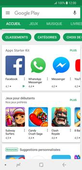 Samsung Galaxy S9 - Applications - Comment vérifier les mises à jour des applications - Étape 4