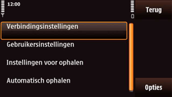 Nokia N97 Mini - E-mail - Handmatig instellen - Stap 21