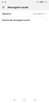 Huawei P20 Android Pie - Messagerie vocale - Configuration manuelle - Étape 9