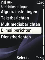 Nokia 3720 classic - e-mail - handmatig instellen - stap 5