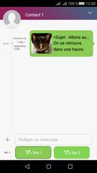 Huawei Huawei Y5 II - MMS - Envoi d