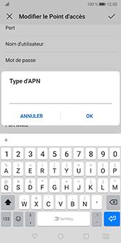 Huawei Mate 10 Pro - Android Pie - Internet et roaming de données - Configuration manuelle - Étape 13