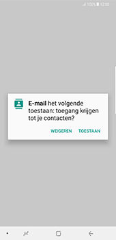 Samsung Galaxy Note 8 (N950) - E-mail - Account instellen (IMAP met SMTP-verificatie) - Stap 5