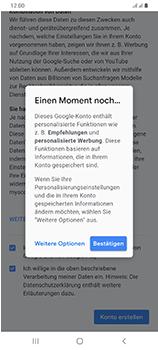 Samsung Galaxy A70 - Apps - Einrichten des App Stores - Schritt 17