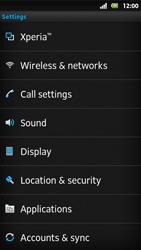 Sony MT27i Xperia Sola - Internet - Manual configuration - Step 4