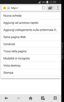 Samsung Galaxy Note Edge - Internet e roaming dati - Uso di Internet - Fase 12