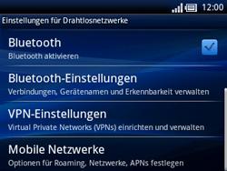 Sony Ericsson Xperia X10 Mini Pro - Netzwerk - Netzwerkeinstellungen ändern - Schritt 5