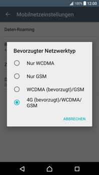Sony F3211 Xperia XA Ultra - Netzwerk - Netzwerkeinstellungen ändern - Schritt 7
