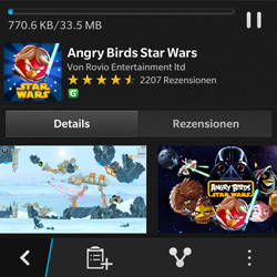 BlackBerry Q5 - Apps - Herunterladen - 22 / 25
