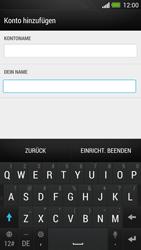 HTC One - E-Mail - Konto einrichten - Schritt 16