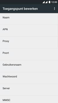 OnePlus 2 - internet - handmatig instellen - stap 12