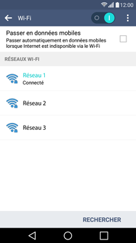 LG H365 G4 Stylus - WiFi - configuration du Wi-Fi - Étape 9