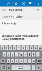 Samsung G357 Galaxy Ace 4 - E-mail - E-mails verzenden - Stap 10