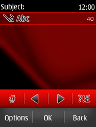 Nokia Asha 300 - MMS - Sending pictures - Step 11