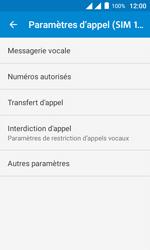 Alcatel Pixi 4 (4) - Messagerie vocale - configuration manuelle - Étape 8
