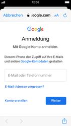 Apple iPhone SE - iOS 14 - E-Mail - 032a. Email wizard - Gmail - Schritt 7