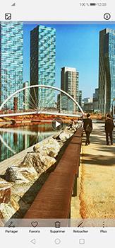 Huawei P30 lite - Photos, vidéos, musique - Créer une vidéo - Étape 17
