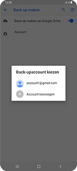 Samsung Galaxy A80 - toestel resetten - back-up maken met jouw account - stap 11