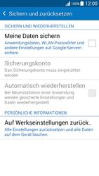 Samsung G530FZ Galaxy Grand Prime - Fehlerbehebung - Handy zurücksetzen - Schritt 7