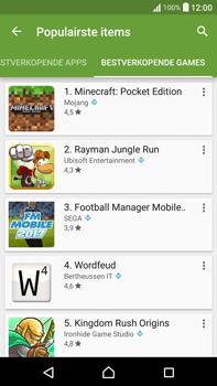 Sony Xperia XA Ultra (F3211) - apps - app store gebruiken - stap 13