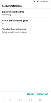 LG Q7 - E-mail - Account instellen (POP3 met SMTP-verificatie) - Stap 18