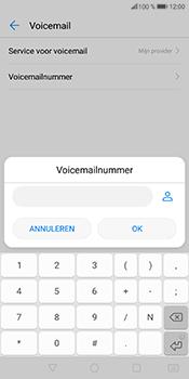 Huawei P Smart - Voicemail - Handmatig instellen - Stap 8