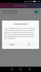 Huawei Huawei Y5 II - Network - Manually select a network - Step 7